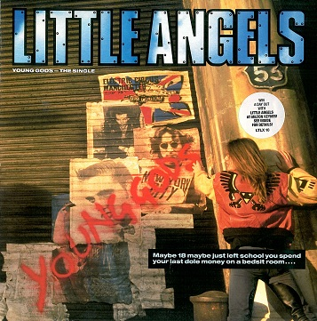 "LITTLE ANGELS Young Gods 12"" Single Vinyl Record Polydor 1991"