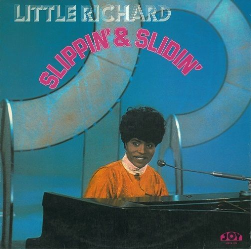 Little Richard Slippin And Slidin Vinyl Record Lp Joy 1974