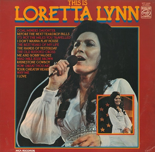 Loretta Lynn This Is Loretta Lynn Vinyl Record Lp Mfp 50329