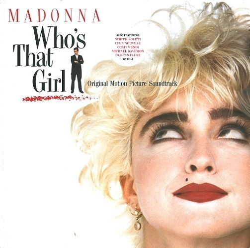 MADONNA Who's That Girl Vinyl Record LP German Sire 1987