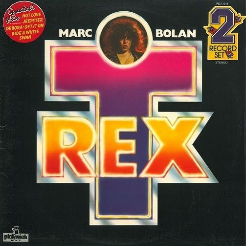 Marc Bolan And T Rex Greatest Hits Vinyl Record Lp Pickwick