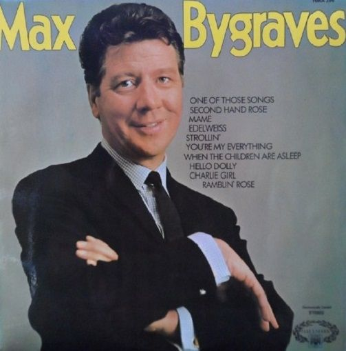 Max Bygraves Max Bygraves Lp Vinyl Record Album 33rpm