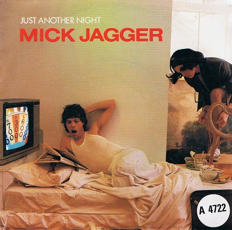 "MICK JAGGER Just Another Night 7"" Single Vinyl Record 45rpm Dutch CBS 1985"