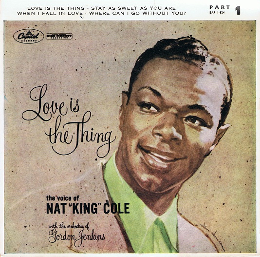Nat King Cole Love Is The Thing Part 1 Ep 7 Single Vinyl