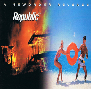 NEW ORDER Republic CD Album Centredate 2001