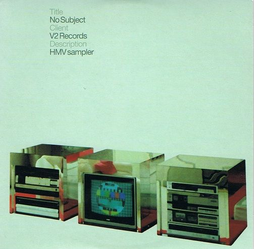 No Subject CD Album V2 2003 Promo