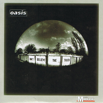 OASIS Don't Believe The Truth CD Album PROMO Big Brother 2005
