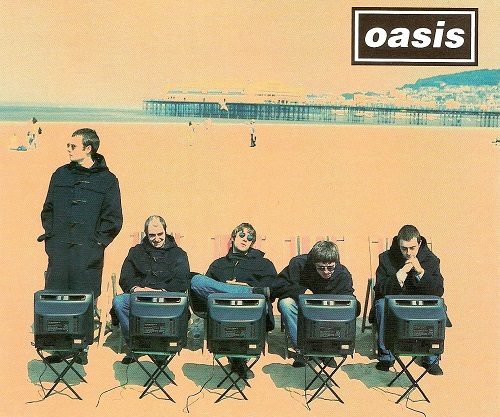 OASIS Roll With It CD Single Creation CRESCD 212