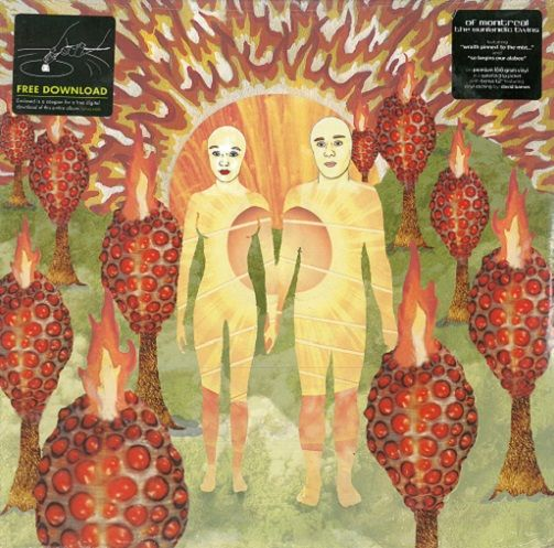 OF MONTREAL The Sunlandic Twins Vinyl Record LP Polyvinyl 2005