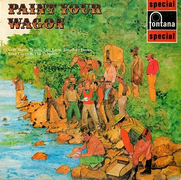 Paint Your Wagon LP Vinyl Record Album 33rpm Italian Fontana 1970