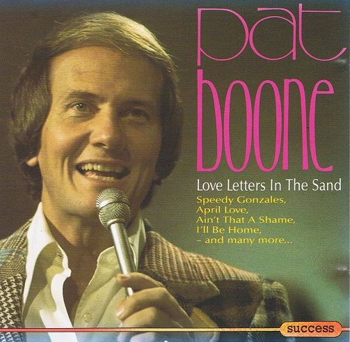PAT BOONE Love Letters In The Sand CD Album Success