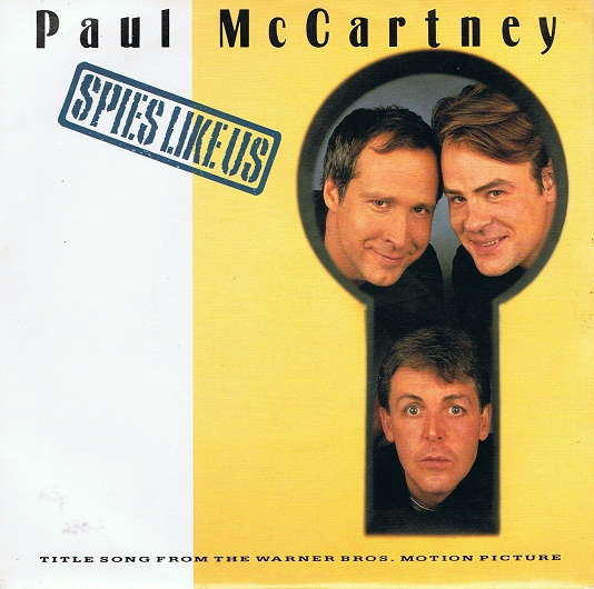 "PAUL McCARTNEY Spies Like Us 7"" Single Vinyl Record 45rpm Parlophone 1985"