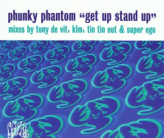 PHUNKY PHANTOM Get Up Stand Up CD Single Distinctive 1998