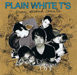 PLAIN WHITE T'S Every Second Counts CD Album Hollywood 2007