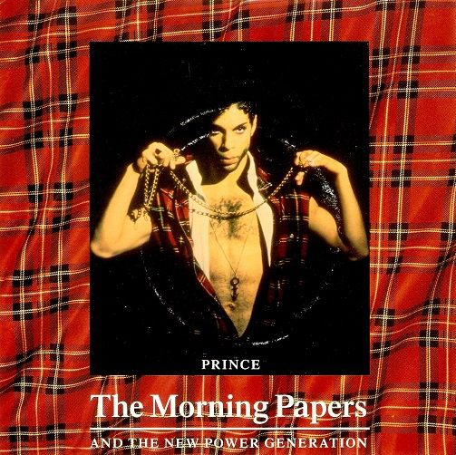 PRINCE The Morning Papers  Vinyl Record 7 Inch Paisley Park 1993