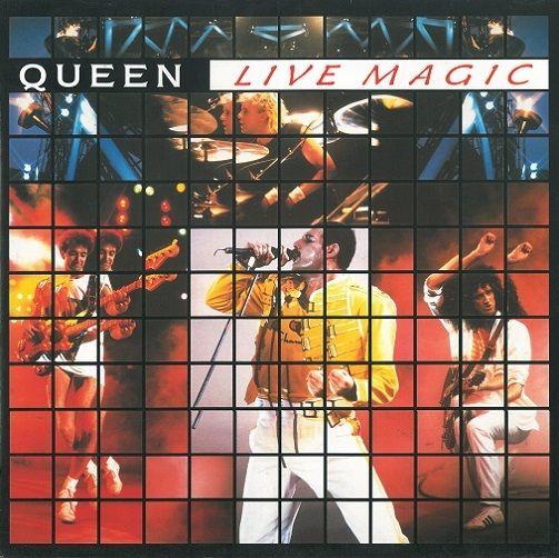 Queen Live Magic Vinyl Record Lp Emi 1986