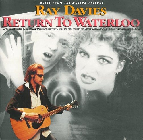 RAY DAVIES Return To Waterloo Vinyl Record LP US Arista 1985
