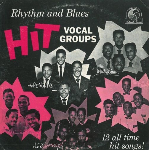 Rhythm And Blues Hit Vocal Groups Vinyl Record LP US Dootone 1955