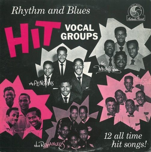 Rhythm And Blues Hit Vocal Groups Vinyl Record LP US Dootone 1955.