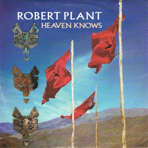 "ROBERT PLANT Heaven Knows 7"" Single Vinyl Record 45rpm German Esparanza 1988"