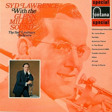 SYD LAWRENCE Syd Lawrence With The Glenn Miller Sound LP Vinyl Record Album 33rpm Fontana 1969