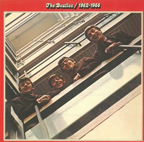 THE BEATLES 1962-1966 Vinyl Record LP Apple 1973