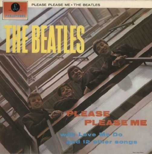 THE BEATLES Please Please Me Vinyl Record LP Parlophone 1971