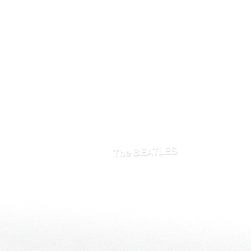 THE BEATLES White Album Vinyl Record LP Apple 2017
