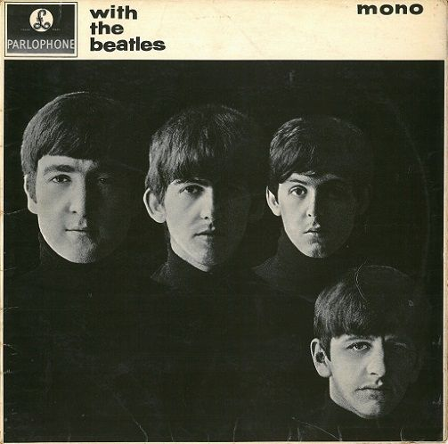 THE BEATLES With The Beatles Vinyl Record LP Parlophone 1963...