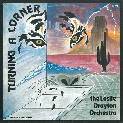THE LESLIE DRAYTON ORCHESTRA Turning A Corner Vinyl Record LP US Esoteric 1981