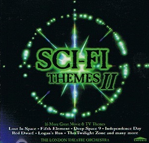 THE LONDON THEATRE ORCHESTRA Sci-Fi Themes II CD Album Emporio 1998