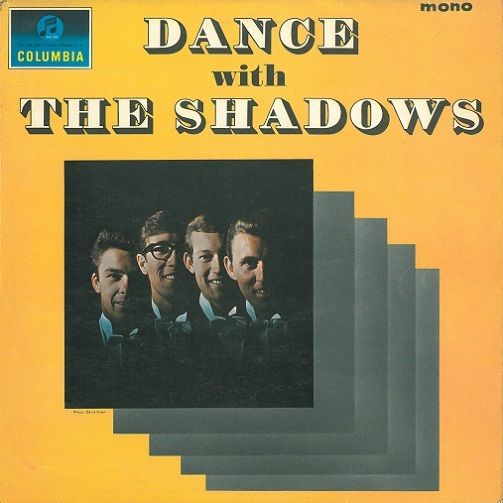 THE SHADOWS Dance With The Shadows Vinyl Record LP Columbia 1964.
