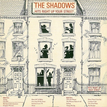 THE SHADOWS Hits Right Up Your Street LP Vinyl Record Album 33rpm Polydor 1981