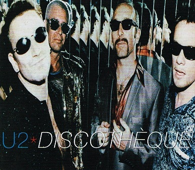 U2 Discotheque CD Single Island 1997