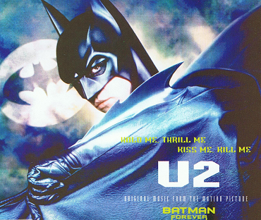 U2 Hold Me, Thrill Me, Kiss Me, Kill Me CD Single Atlantic 1995