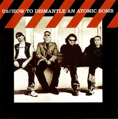 U2 How To Dismantle An Atomic Bomb CD Album Island 2004