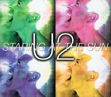 U2 Staring At The Sun CD Single Island 1997