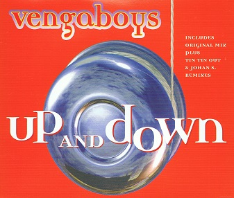 VENGABOYS Up And Down CD Single Positiva 1998