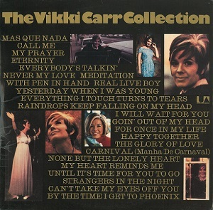 VIKKI CARR The Vikki Carr Collection Vinyl Record LP United Artists